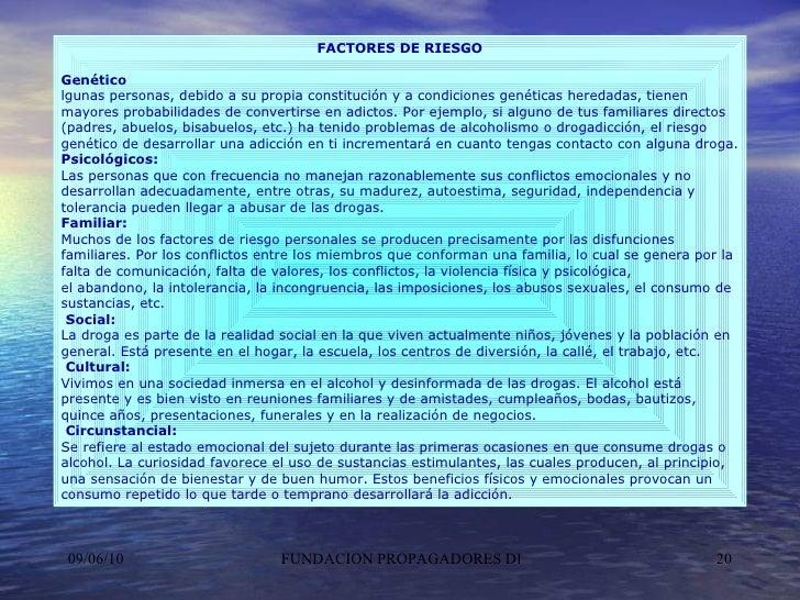 FACTORES DE RIESGO Genético lgunas personas, debido a su propia constitución y a condiciones genéticas heredadas, tienen m...
