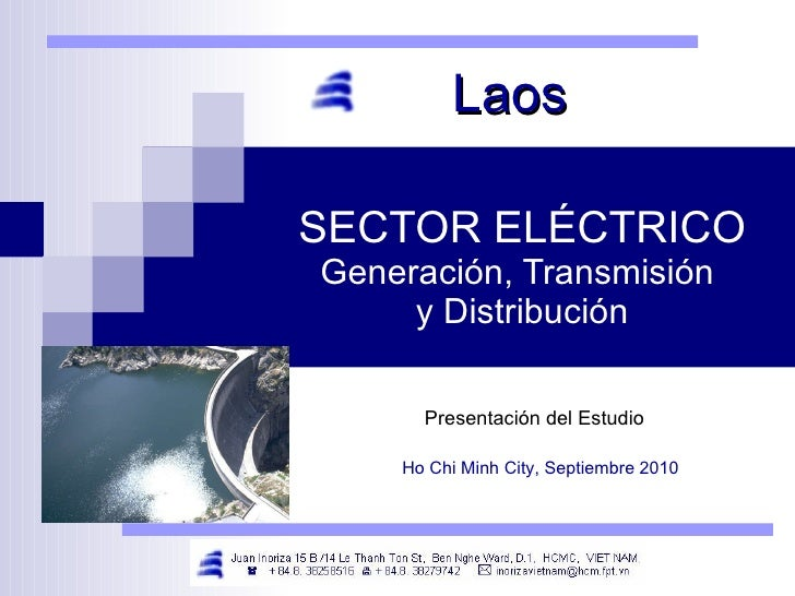 SECTOR ELÉCTRICO Generación, Transmisión  y Distribución