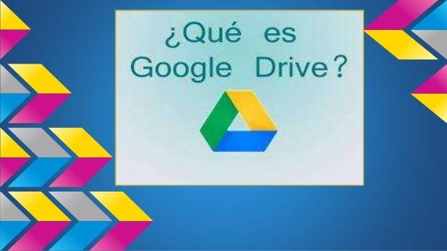 presentacion google drive ppt