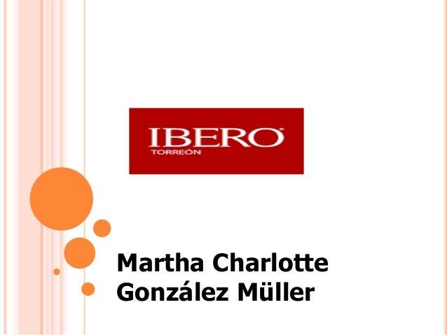 Martha Charlotte González Müller
