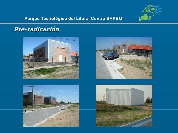 Parque Tecnológico del Litoral Centro SAPEMPre-radicación