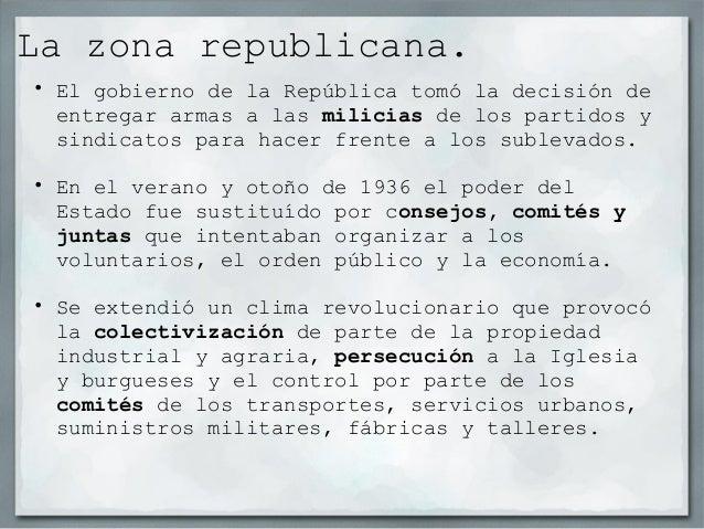 • Después de los Hechos de Mayo, se formó un nuevo  gobierno al mando de Juan Negrín, integrado por los  partidos del Fren...