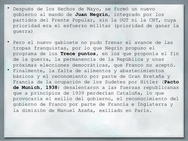 La represión durante la guerra En aquellas zona de la territorio bajo el bando nacional la represión fue muy dura y contun...