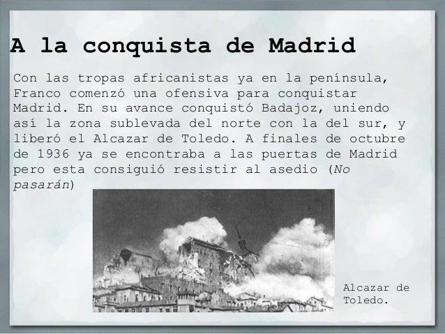 Situación de los frentes afinales de 1937                             Zona                             sublevada          ...