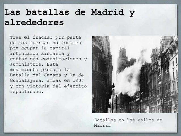 La batalla del Ebro                             El ejercito republicano frenó el                             avance de las...
