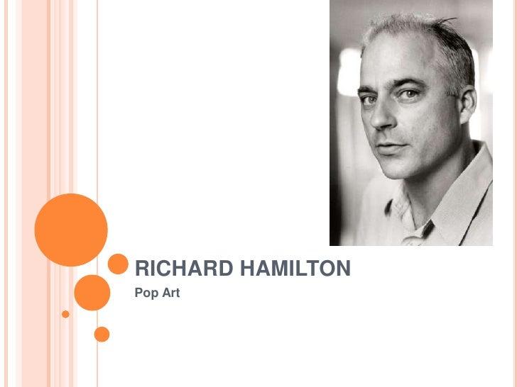 RICHARD HAMILTON Pop Art