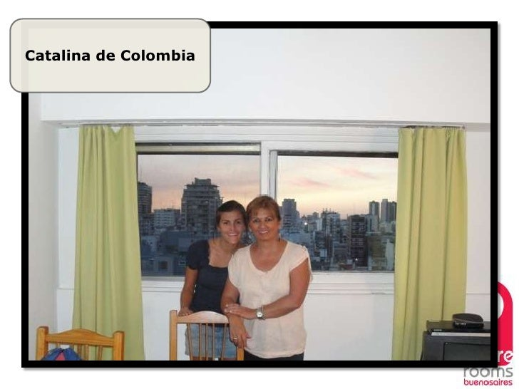 Spare Rooms Buenos Aires, happy clients. Slide 3