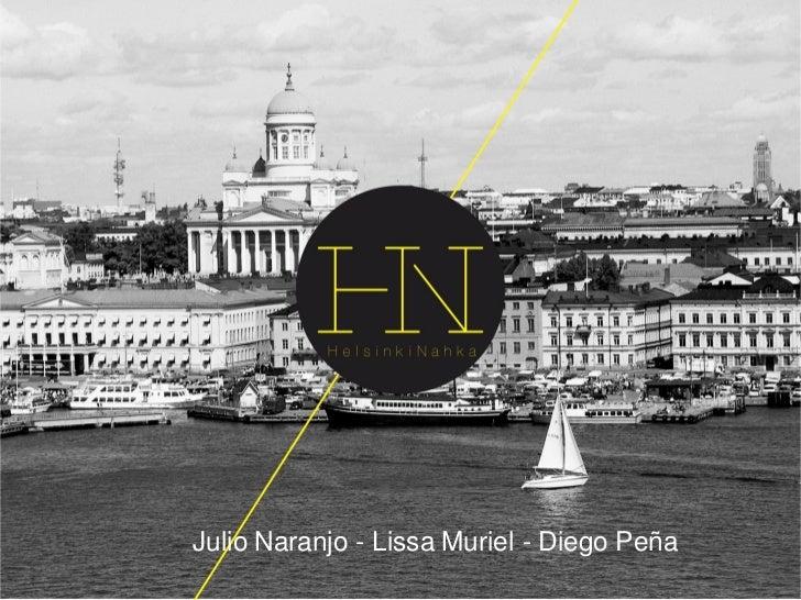 Julio Naranjo - Lissa Muriel - Diego Peña