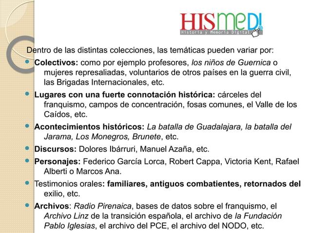 Dentro de las distintas colecciones, las temáticas pueden variar por:  Colectivos: como por ejemplo profesores, los niños...