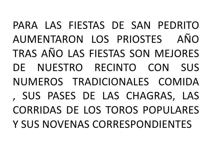 Presentacion Historia De San Pedro Slide 2
