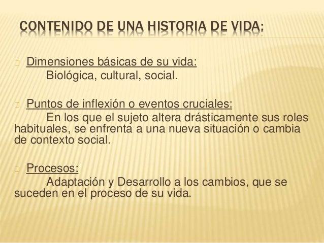 Presentacion historia de vida