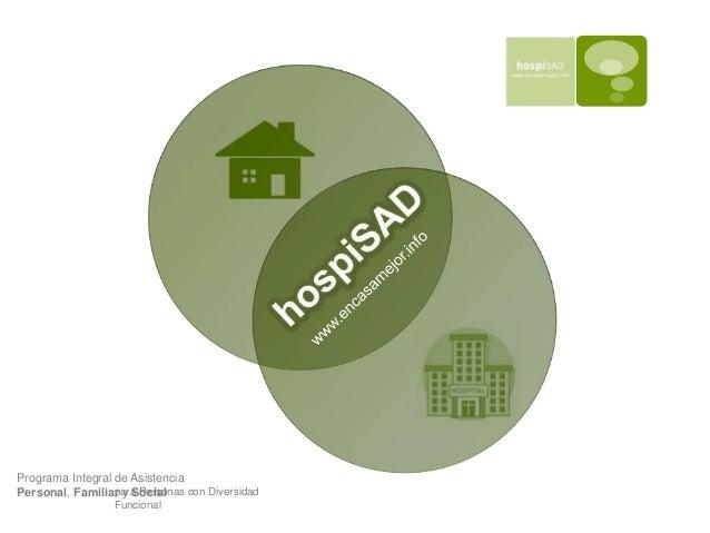 HospiSAD: Servicio de Ayuda a Domicilio Integral Slide 2