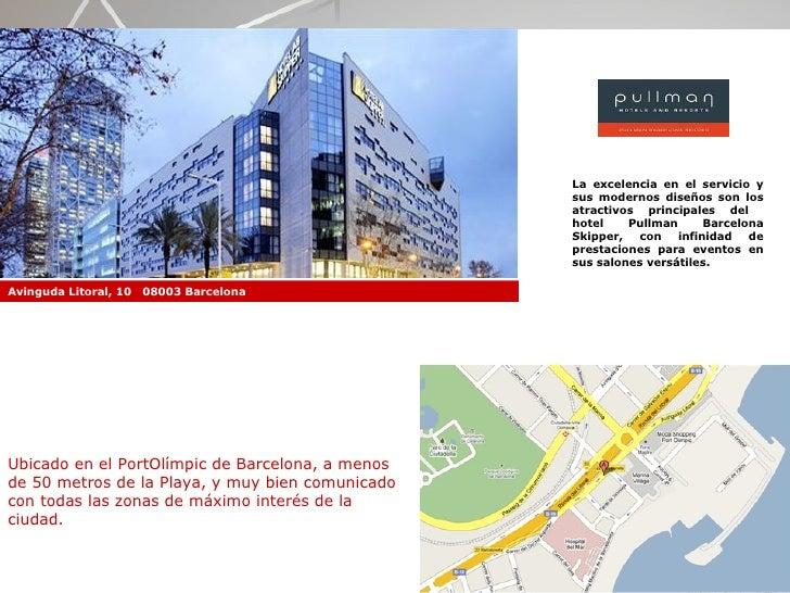 Hoteles en barcelona para eventos convenciones reuniones - M a interiorismo cb granada ...