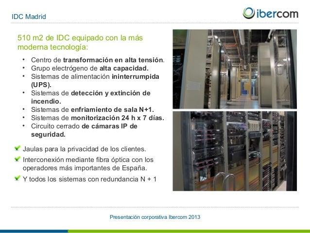 Presentacion ibercom 2013 for Oficinas ups madrid