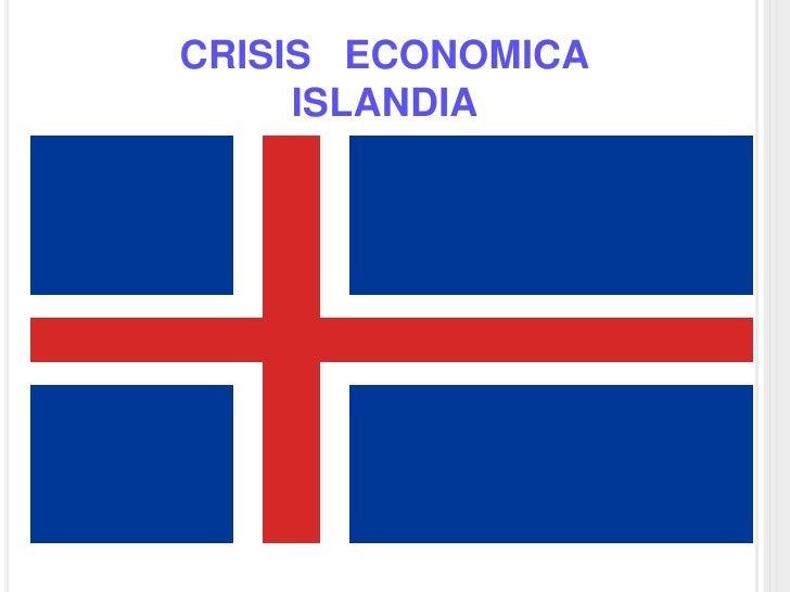 CRISIS ECONOMICA      ISLANDIA
