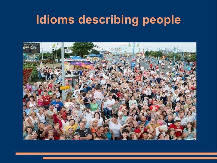 Idioms describing people