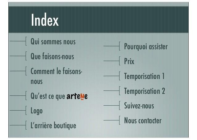 Presentación in cloud y arteñe francés Slide 2