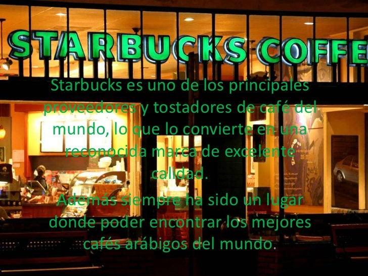 Presentacion Starbucks Slide 2