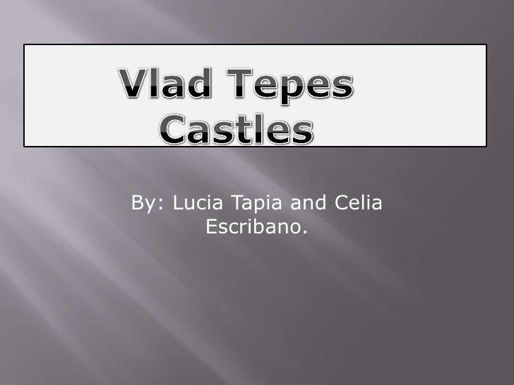 By: Lucia Tapia and Celia       Escribano.