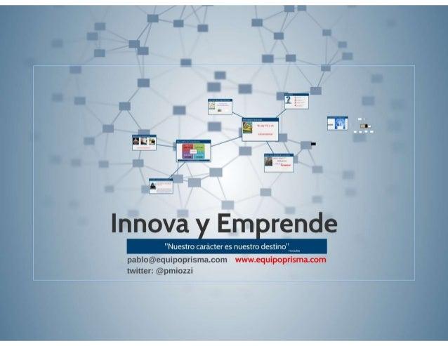 Presentacion innova y emprende