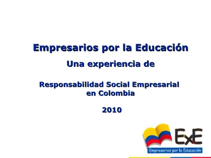 Presentacion institucional -2009_resumen