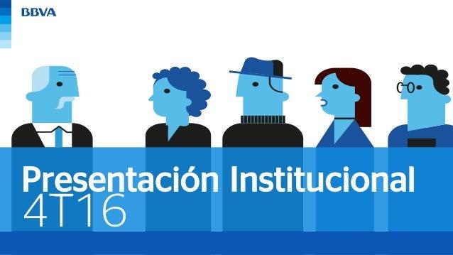 4T16 Presentación Institucional