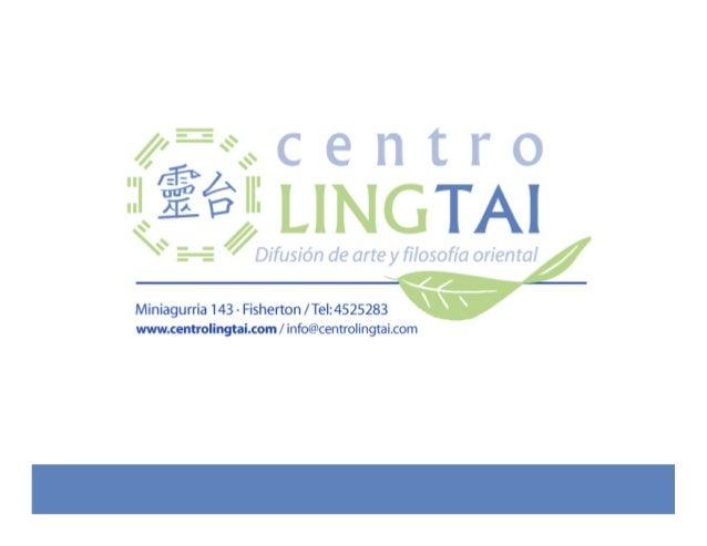 Conocenos... Centro Ling Tai, es una empresa dedicada a la Capacitación, Asesoramiento y Desarrollo de la Salud Familiar y...