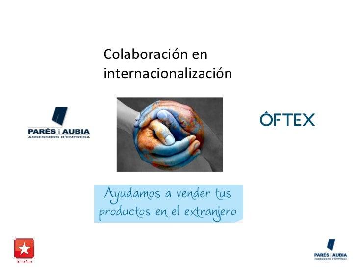 Colaboración eninternacionalización