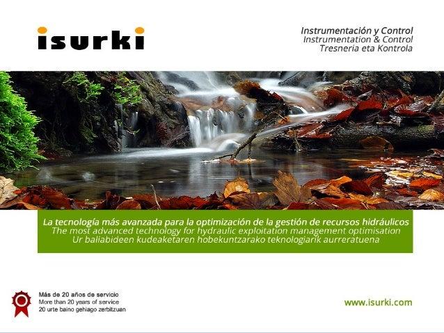 ISURKIISURKIInstrumentación y ControlInstrumentación y Controlwww.isurki.comwww.isurki.com