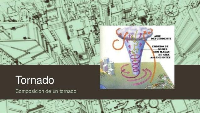 Tornado Composicion de un tornado
