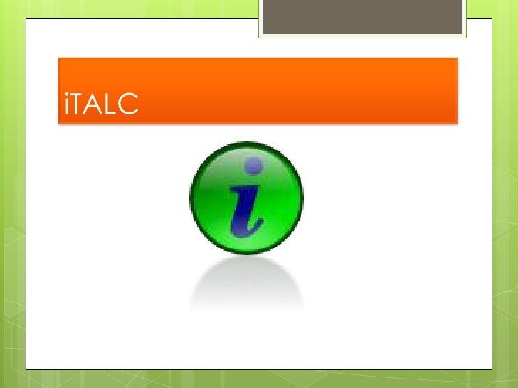 Presentación Italc