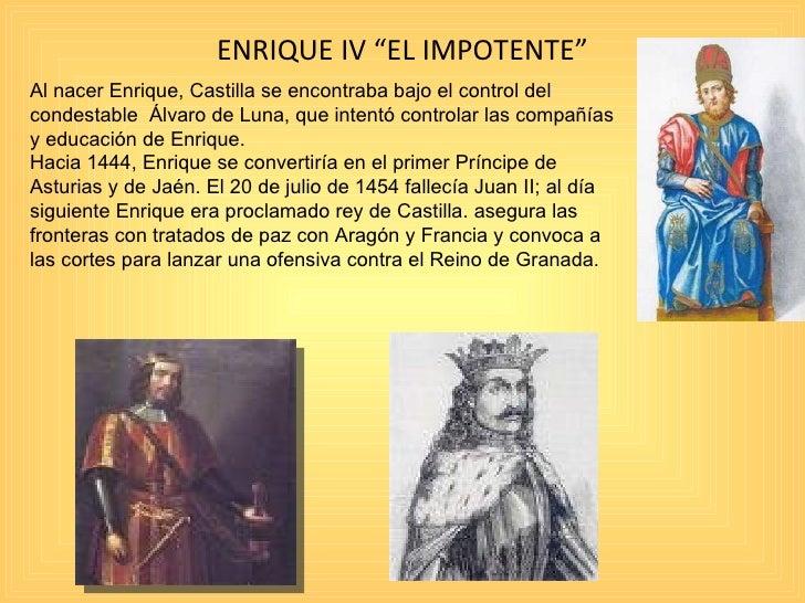 Presentacion jorge manrique for Enrique cuarto de castilla