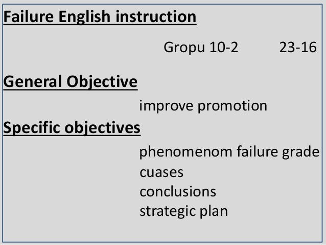 mass failure in english language Top on the agenda was the recurrence mass failure of candidates in the  five  subjects, including english language and mathematics, which is.
