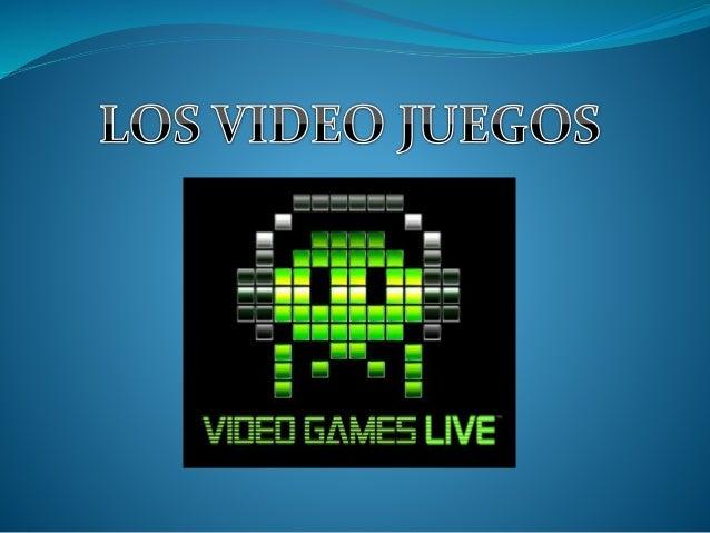  Los video juegos son software creado para el entretenimiento de las personas.