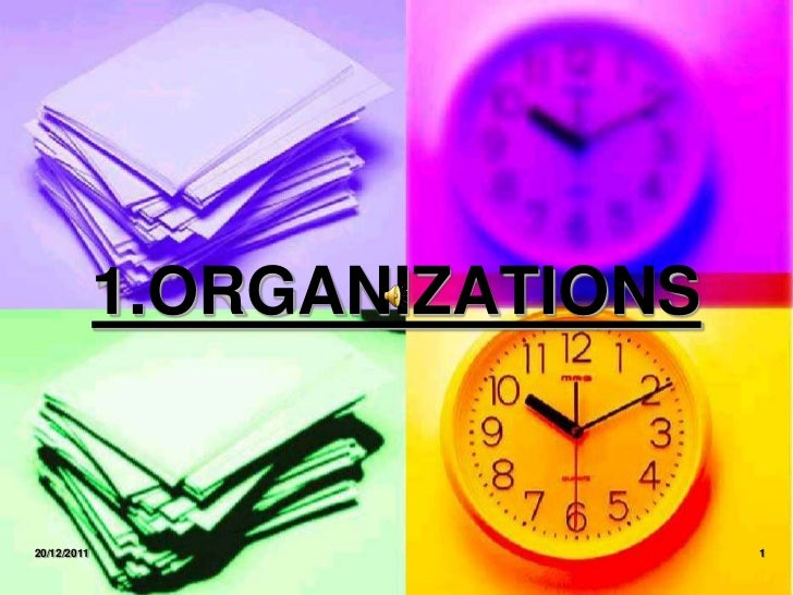 1.ORGANIZATIONS20/12/2011                     1