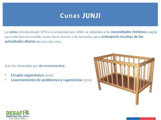 Diseño e implementación de nuevas cunas para Jardines Infantiles JUNJI