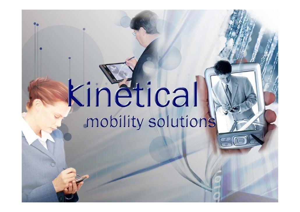 """KINETICAL es una empresa especializada en """"Soluciones de Movilidad"""" utilizando dispositivos PDAs, SMARTPHONES y TABLET's P..."""