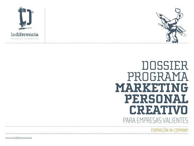 Marketing personal creativo