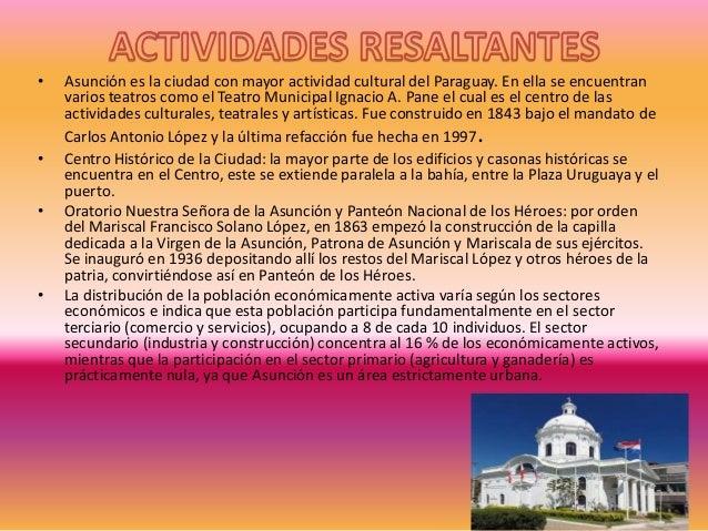 LA CUIDAD DE ASUNCIÓN LUIS PURIZACA ADMINISTRACIÓN DE EMPRESAS
