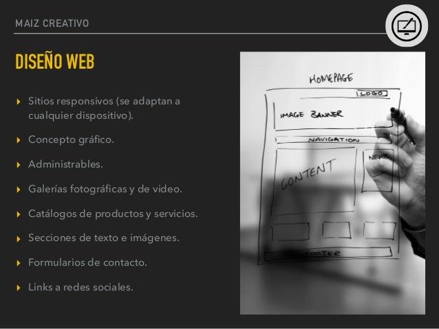 MAIZ CREATIVO MOBILE APPS ▸ Apps para Iphone / Ipad ▸ Apps para Android ▸ Web Apps ▸ Diseño y funcionalidad a la carta