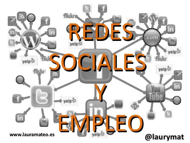 REDESREDESSOCIALESSOCIALESYYEMPLEOEMPLEO@laurymat@laurymatwww.lauramateo.eswww.lauramateo.es