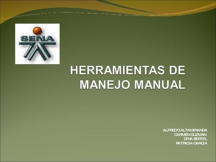 Presentacion Manejo Seguro De Herramientas