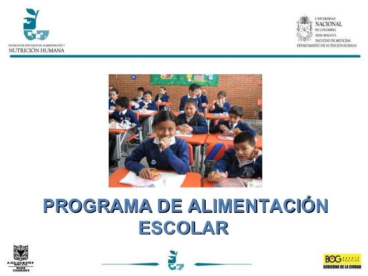 presentacion manual de procedimientos programa de