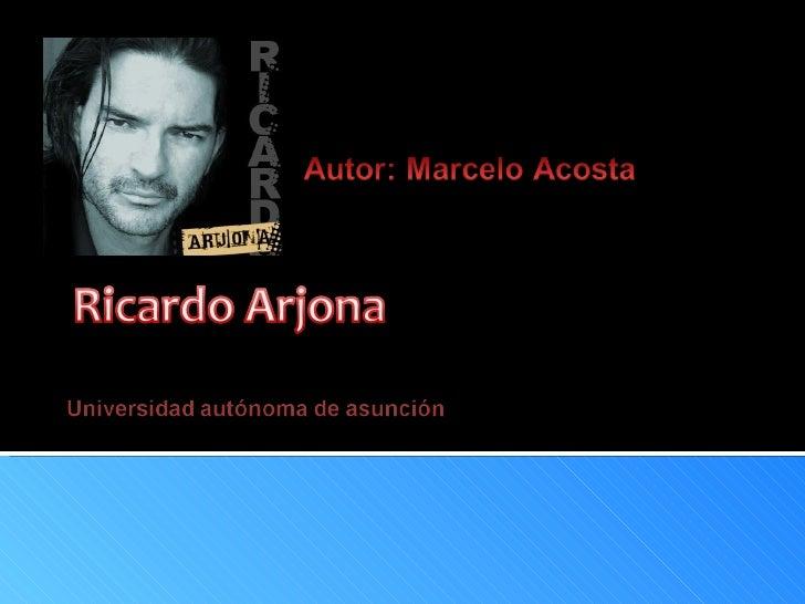 BIOGRAFÍA:Nació en el municipio de Jocotenango, El español que veniade (Santiago de los Caballeros); es hijo de Ricardo Ar...