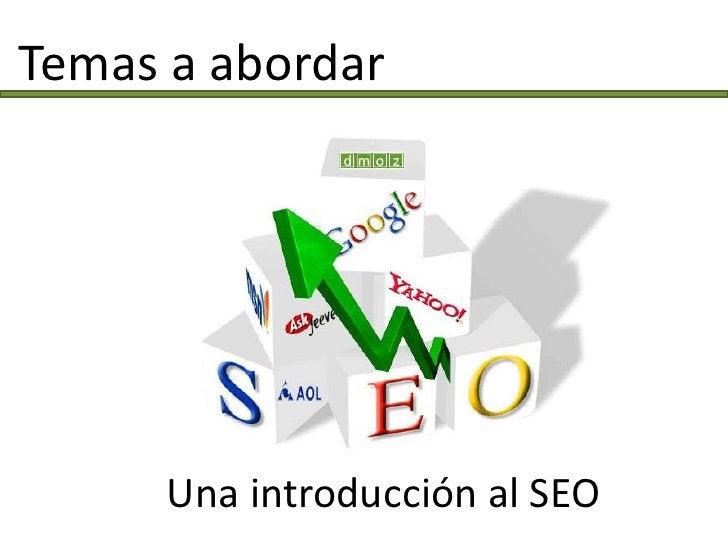 Mercado Objetivo    Profesionales  de marketing  de habla  hispana