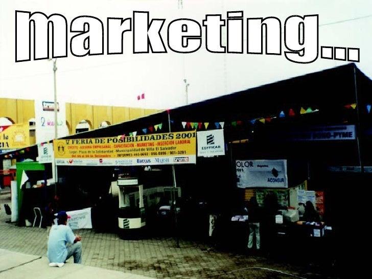 marketing...