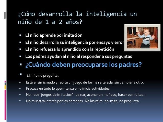 Desarrollo De La Inteligencia En Los Ninos De 0 A 6 Anos