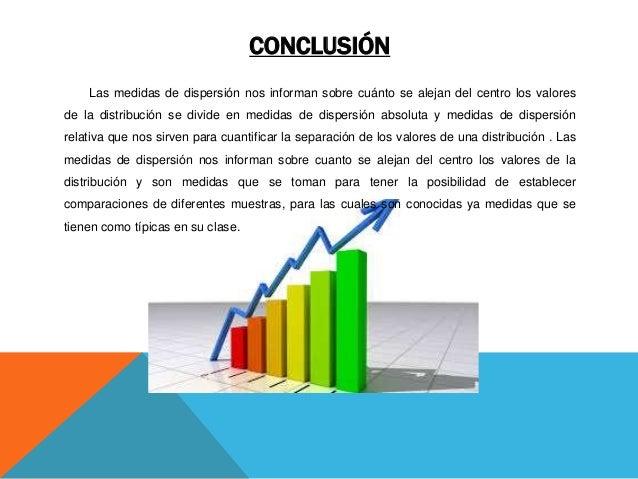Conclusion de las medidas de tendencia central para datos no agrupados