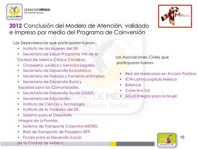 11 2013 La Coordinación Interinstitucional actualiza Ficha Técnica, proyecta la realización de acciones:  Detección, aten...