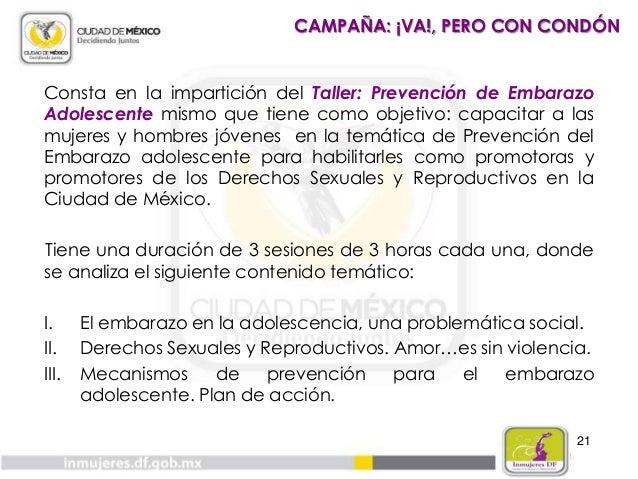 22 CAMPAÑA: ¡VA!, PERO CON CONDÓN